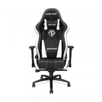 ANDA SEAT Gaming Chair Spirit King Series - Black/White