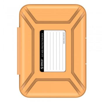 Orico PH2X 3.5'' 2 bay HDD Protection Box - Orange